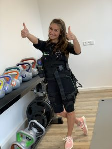 Dilara beim Training