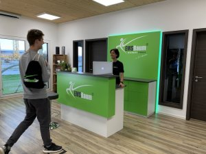 Im EMSRaum Fitness-Studio ist das Training kabellos