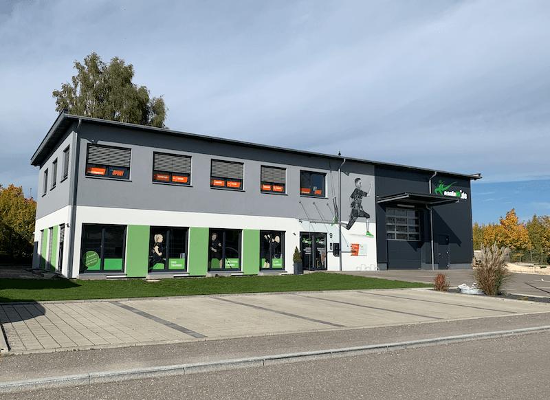 EMSRaum Zentrale in Langenau bei Ulm